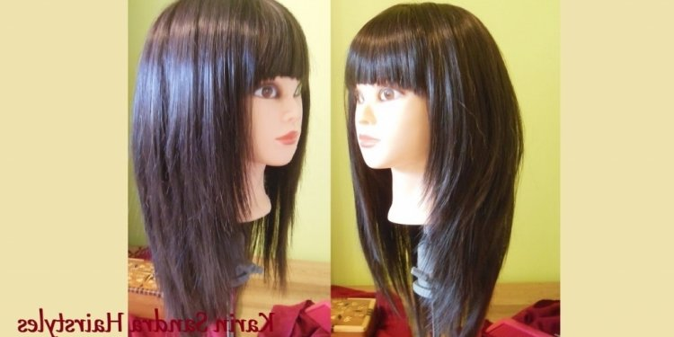Long Layered Bob Haircut