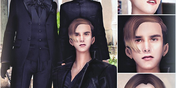 「 taketomi 」07/29/2013 - League of Remarkable Gentlemens Hair Release - Now On Marketplace!