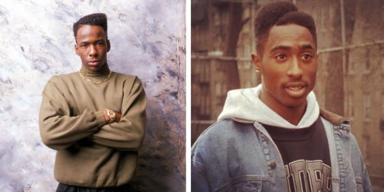 Bobby Brown and Tupac looking