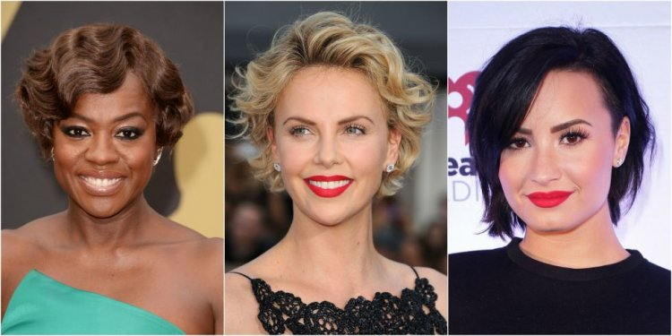 Short hair style for Ladies