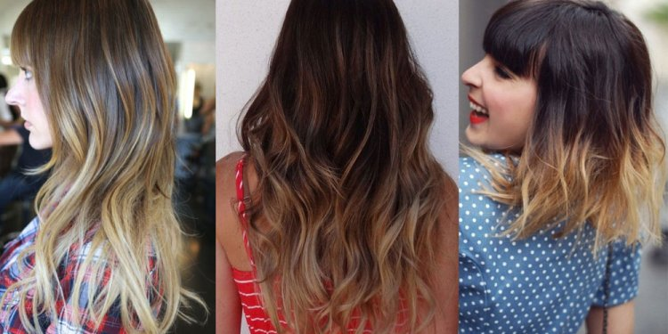 Ombre hair color for Black women