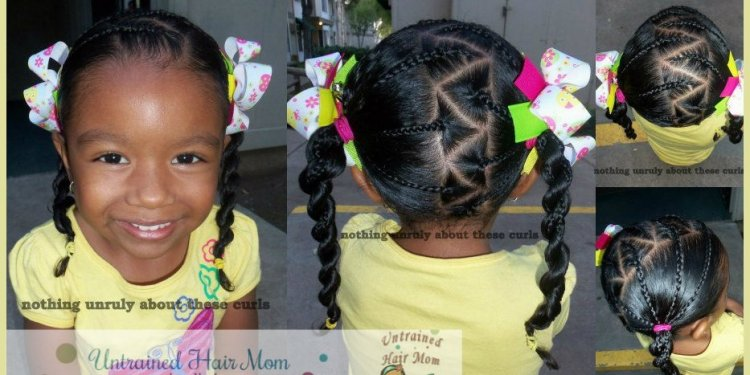 Hairstyles for Black baby with curly hair