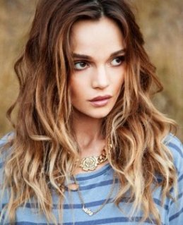 Best longer Hairstyles for 2015: Ombre Wavy Hair