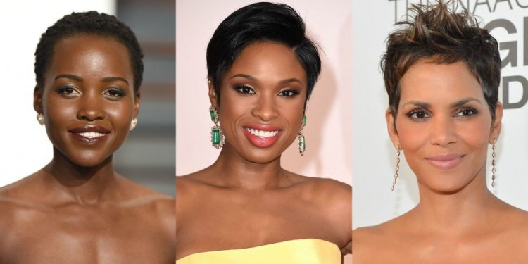 Short Haircuts African American women