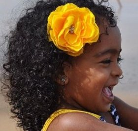 black toddler normal hairstyle
