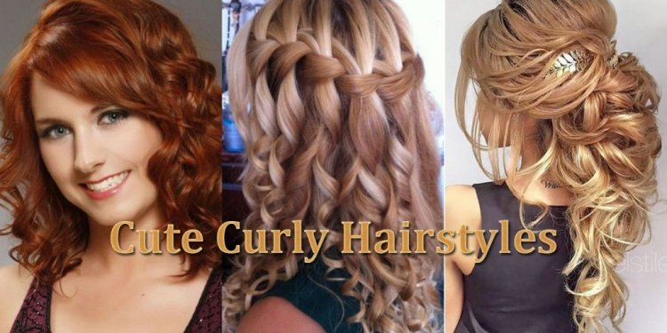 Curly wet Hairstyles