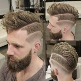 Deep component Faux Hawk