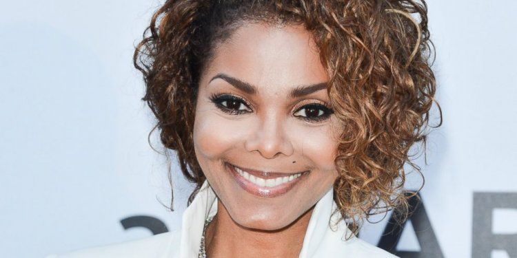 Janet Jackson hair color