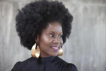 Karen Tappin of Brooklyn, N.Y., pictured previously this month at International All-natural Hair Meetup Day in Boston.
