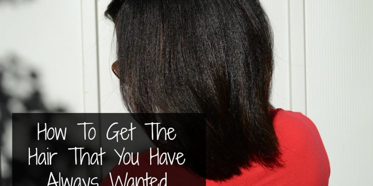 Curling relaxed hair