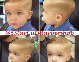 long top brief edges child guys haircut