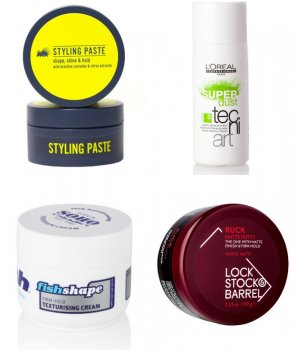 guys's Recommended hair-styling Products - Quick Choppy/Messy Hair