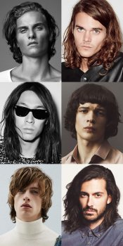 Men's Spring/Summer 2016 Hair Trends - Long Hairstyles and Cuts