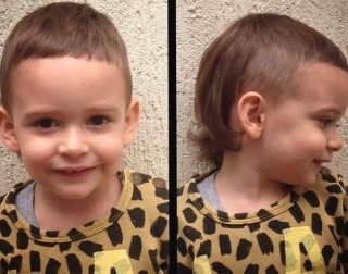 mullet slashed for small boys