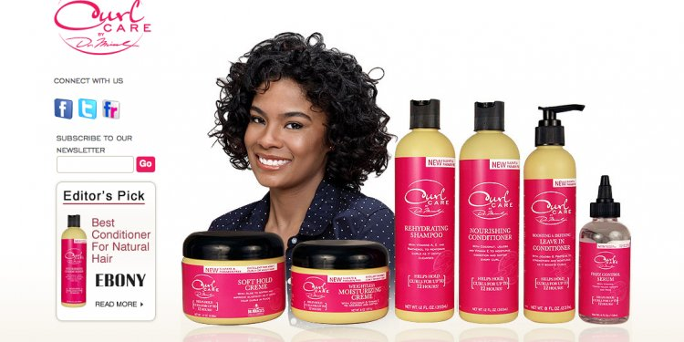 African curly hair products