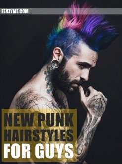 New Punk Hairstyles for Guys in 2015 (1.1)