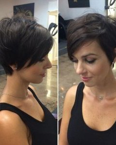 workplace Hairstyles for Short Hair - fashionable Short Pixie Haircut for ladies