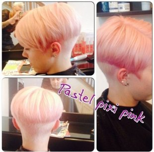 Pastel Pixie Pink - Quick Haircuts 2015