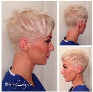Pixie Hairstyle for good Hair - Females brief Haircuts for 2015