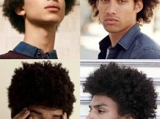 the very best Men's Black and Afro Hairstyles - Natural Texture/Afro