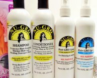 Black hair growth products