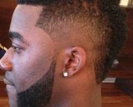 Black Male Mohawk Hairstyles