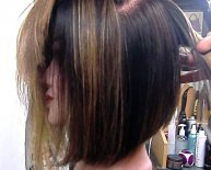 Long Black bob Haircuts