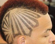 Mohawk designs for Black men