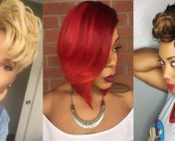 Short African American women Hairstyles