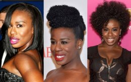 uzo aduba right curly all-natural tresses